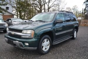 2002 Chevrolet Trailblazer EXT 4dr 4WD LT, 7 passenger, no accid