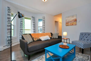 Fully Furnished Two-Bedrooms Across the North End