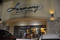 Harmony Day Spa accepting resumes for Certified Aesthetician.