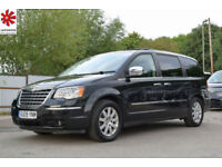2009 (09) Chrysler Grand Voyager 2.8CRD Auto Limited Diesel Automatic 7 Seater