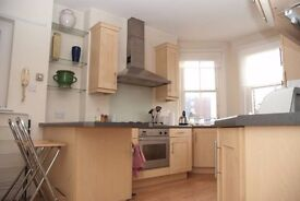 LARGE 2 X DOUBLE BEDROOM FLAT FULHAM BROADWAY IN SORT AFTER MANSION BLOCK