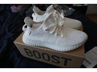 UA Adidas Yeezy Boost 350 V2 Cream White UK 11