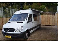 2008 Mercedes Sprinter Racevan Motorhome For Sale