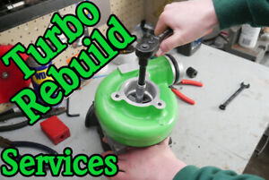 Need your Turbocharger Rebuilt or Upgraded?