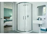 Coram Optima Quadrant Shower Enclosure OQD380CUC New version Brand new