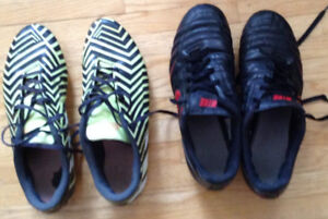 Men's Size 12  Adidas & Nike Soccer Cleats