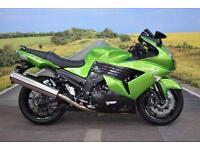 Kawasaki ZZR1400 **Tank Pad, Immobiliser, Heated Grips**
