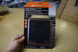 Ozark Trail Solar Powered Portable Phone Charger - NEW SEALED