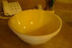 antique mixing bowl
