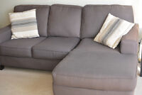 Great Quality Sectional (Love seat and chaise)