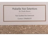 Mabelle beauty Fully Qualified and Insured hair extensionist and beautician