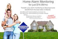 Home Alarm $14.99/mo