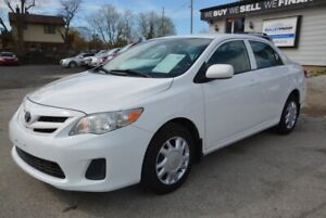 2013 Toyota Corolla 4dr Sdn, auto, a/c, 2 sets of tires
