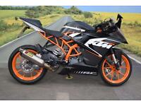 KTM RC125 **Akrapovic Exhaust, Datatag Protection, ABS**