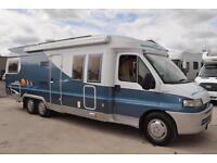 Hobby 750 3 Berth Luxury Motorhome For Sale