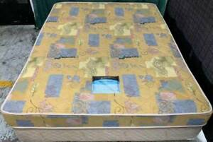 Excellent spring queen mattress with king koil brand queen bed base