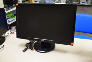 "ASUS VH242H Black 23.6"" 1080P LCD Monitor w/ Speakers (#2099)"