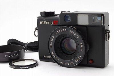 Пленочные фотокамеры 【Exc++++】 Plaubel Makina 67