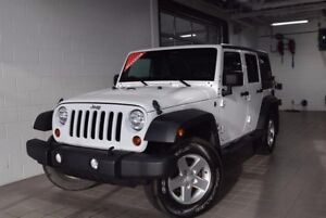 Jeep Wrangler Unlimited Sport*4X4***2 TOITS**CRUISE* 2013