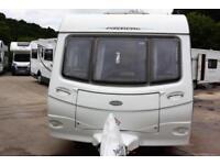 Coachman Pastiche 560, 2011, 4 berth, fixed double bed, end washroom