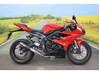Triumph Daytona 675 **Aftermarket Exhaust, Braided Hoses, Tank Pad**