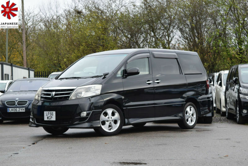 2006 (56) TOYOTA ALPHARD MS 3.0 V6 Automatic Black 8 Seater MPV Estima Previa