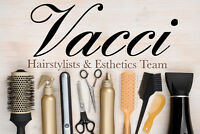 Now hiring licensed hairstylists