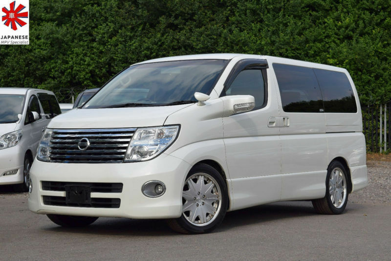 2007 (57) NISSAN ELGRAND Highway Star 3.5 V6 Auto 8 Seater
