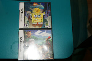 Two DS games for $12.or one for $7. Up and Spongebob Atlantis!
