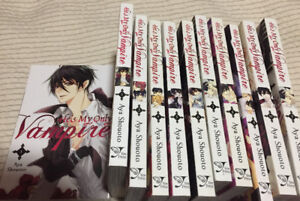 He's my only vampire 1-10 complete manga collection