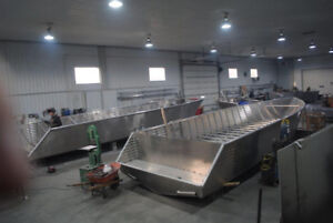Aluminum boats by Henley Boat Mfg.