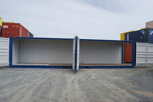NEW OPEN SIDE 3 DOOR SEA CONTAINER SHIPPING CONTAINERS 40 FT