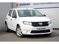2013 Dacia Sandero 1.2 16v Ambiance 5dr Petrol white Manual