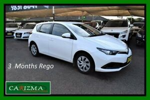 2015 Toyota Corolla ZRE182R MY15 Ascent White 7 Speed CVT Auto Sequential Hatchback