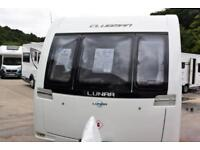 Lunar Clubman SE 2013, 4 berth, fixed bed, end washroom, immaculate condition