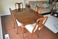 Harden furniture table and chairs