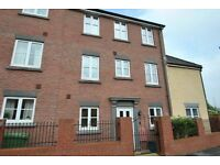 Spacious double bedroom available - Modern 4 Bed Town House £450 inc. bills PCM - Gym/Shops Local
