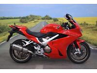 Honda VFR800 ** Only 1 Owner, ABS, Cowl, Akropovic Exhaust **