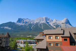 Cozy 2 bedroom condo in Canmore, with mountain view
