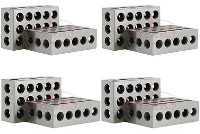 Shars Brand New 4 Pairs 8pcs 1-2-3 Block Set .0002 New A
