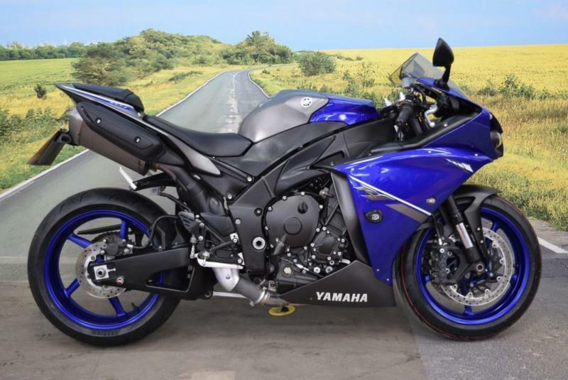 Yamaha YZF-R1 2014 **R&G Bobbins, Datatool Alarm, ABS** | in ...