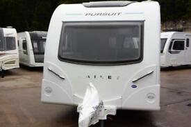 Bailey Pursuit 570/6, 2017, 6 berth, single axle, double bunks, rear dinette