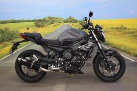 Yamaha XJ6N **MTC Exhaust, R&G Bobbins, Datatag Protection**