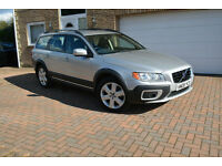 2008 Volvo XC70 2.4 geartronic D5 SE Sport Silver/Black Leather Recent Service