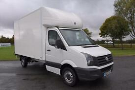 Volkswagen Crafter 2.0TDi ( 109PS ) CR35 LWB Luton Van with Tail-Lift