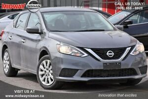 2017 Nissan Sentra 1.8 S S - Bluetooth|Cruise|A/C