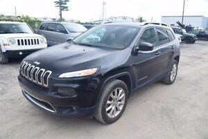 Jeep Cherokee LIMITED*AWD*GPS*DÉMARREUR* 2016