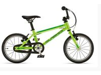 Islabike CNOC 14- unisex green-yellow aluminium Childrens bike with box
