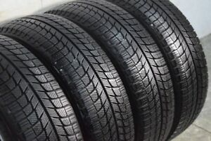 Set of 4 265/70/17 Michelin winter 70% tread