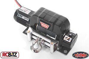 RC4WD 1/10 Warn 9.5cti SCALE Working Winch METAL hook MOUNTINGS Need Control